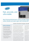 Carbon Dioxide Analyzer (CO2, H2O) – Datasheet