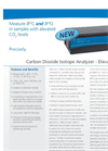Carbon Dioxide Isotope Analyzer - Elevated CO2 – Datasheet