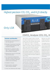 CO–CO2 Analyzer (CO, CO2, H2O) – Datasheet