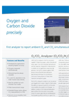 O2/CO2 Analyzer (Oxygen, Carbon Dioxide) – Datasheet