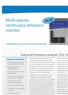 Industrial Emissions Analyzer (CO, CO2, H2O, O2) – Datasheet