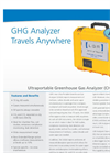 Greenhouse Gas Analyzer (CH4,CO2,H2O)-Ultraportable – Datasheet
