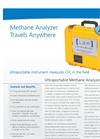 Methane Analyzer (CH4, H2O) – Datasheet