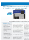 Water Vapor Isotope Analyzer Datasheet