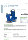 DG BluePRO - Set-Back Vortex Impeller for Submersible Electric Pumps Brochure