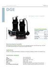 Zenit - DGE - Set-Back Vortex Impeller for Submersible Electric Pumps Brochure