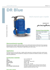 Zenit - DR Blue - Multi-Channel Open Impeller for Submersible Pumps Brochure