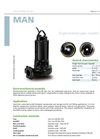 Zenit - MAN - Single-Channel Open Impeller for Submersible Pumps Datasheet
