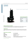 Zenit - SMI - Single-Channel Closed Impeller for Submersible Pump Datasheet