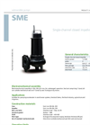 Zenit - SME - Single-Channel Closed Impeller for Submersible Pump Datasheet