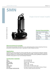 Zenit - SMN - Single-Channel Closed Impeller for Submersible Pump Datasheet