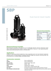 Zenit - SBP - Dual-Channel Closed Impeller for Submersible Pump Datasheet
