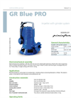 Zenit - GR Blue PRO - Impeller With Grinder System for Submersible Pump Datasheet