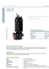 Zenit - VLP - Multi-Channel Open Impeller With Vulkollan Coating for Submersible Pumps Datasheet