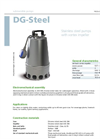 Zenit - DG-Steel - Set-Back Vortex Impeller for Submersible Electric Pumps Datasheet