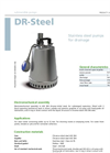 Zenit - DR-Steel - Multi-Channel Open Impeller for Submersible Pump Datasheet