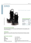 Zenit - DRO - Multi-Channel Open Impeller for Submersible Pump Datasheet