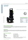 Zenit - SMF - Single-Channel Closed Impeller for Submersible Pump Datasheet