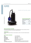 Zenit - GRE - Impeller With Grinder System for Submersible Pump Datasheet