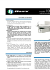 Model 1001BP BarrierFree Drinking Fountain Spec Sheet