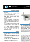 Model 1001HPS BarrierFree Drinking Fountain Spec Sheet