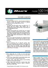 Model 1001HPSBP BarrierFree Drinking Fountain Spec Sheet