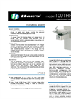 Model 1001HPSMS BarrierFree Drinking Fountain Spec Sheet