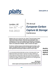 7th Annual European Carbon Capture & Storage 2013 Agenda