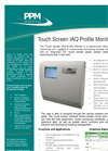 Touch Screen IAQ Profile Monitor Product Brochure