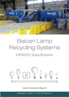 Model MP 6000 - Lamp Recycling Systems Brochure