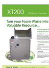 Model XT200 - Plastic Foam Densifier Brochure