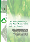 The leading Recycling and Waste Management Software Solution We3 Recycler - Brochure