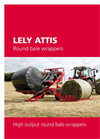 Lely Attis PT Trailed Round Bale Wrappers Brochure