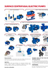 Surface Pumps Line Presentation - Brochure
