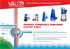 Drainage Submersible Dewatering Electric Pumps - Brochure