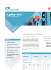 LydAir - Model MG - HEPA and ULPA Air Filtration Media Brochure