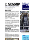 Single Or Two Stage Concrete Sumps - Datasheet