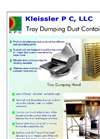 Tray Dumping Dust Containment Brochure
