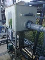 Model RDS - Aquaculture Drum Screen Filter for Fish Ponds and Shrimp Ponds