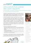 Dairy Industry Application Notes