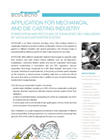 Mechanical And Die Casting Industry Application Notes