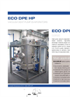 ECO DPE HP Series Low Temperature Vacuum Evaporator with Heat Pump - Datasheet