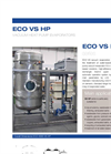 ECO VS HP Series Low Temperature Vacuum Evaporator with Heat Pump - Datasheet