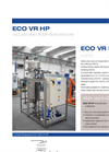 ECO VR HP Series Low Temperature Vacuum Evaporator with Heat Pump - Datasheet