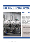 ECO DPM Series Multiple Effect Vacuum Evaporators with Alternative Energy Source - Datasheet