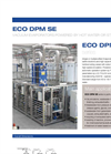 ECO DPM SE Series Multiple Effect Vacuum Evaporators with Alternative Energy Source - Datasheet