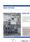 ECO VR WW Series Multiple Effect Vacuum Evaporators with Alternative Energy Source - Datasheet