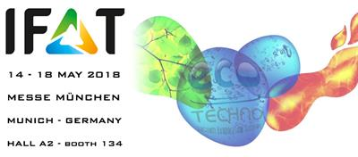 IFAT: 14-18 MAY 2018 MUNICH – GERMANY
