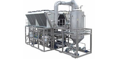 Model ECO DPM SE Series - Multiple Effect Vacuum Evaporators with Alternative Energy Source