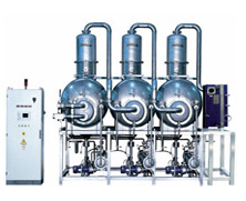 Model ECO DPM Series - Multiple Effect Vacuum Evaporators with Alternative Energy Source